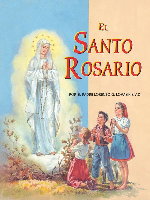 St. Joseph Picture Book - El Santo Rosario (The Holy Rosary)