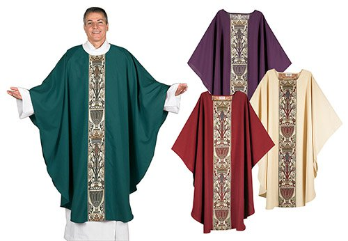 Coronation Tapestry Chasuble - Set of 4