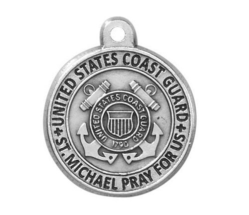 Creed® Heritage Collection St. Michael Medal - Coast Guard