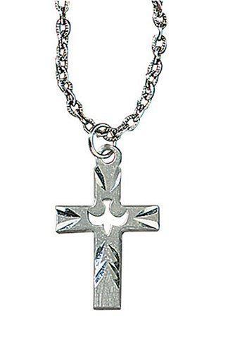 Dove Cross Necklace - 3/pk