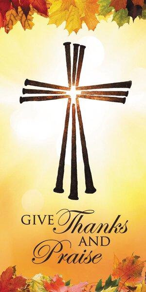 Banner: Thanksgiving Cross