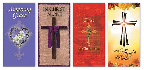 Banner: Christ in Every Season Banner Set
