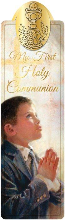 Fincher First Communion Bookmark Boy