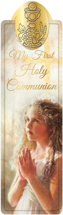 Fincher First Communion Bookmark Girl