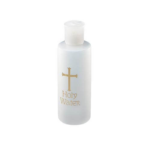 Holy Water Bottle - 24/pk