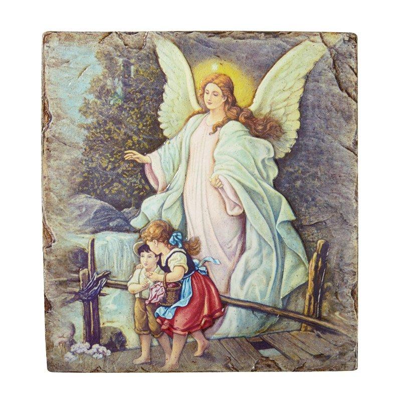 Marco Sevelli Tile Plaque - Guardian Angel