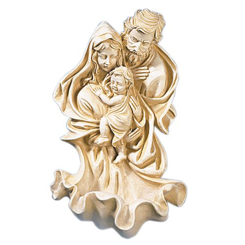 Holy Family Holy Water Font - 4/pk