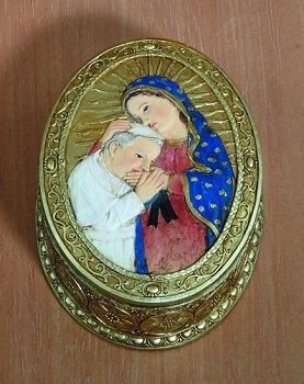 St. John Paul II/Our Lady of Guadalupe Rosary Box