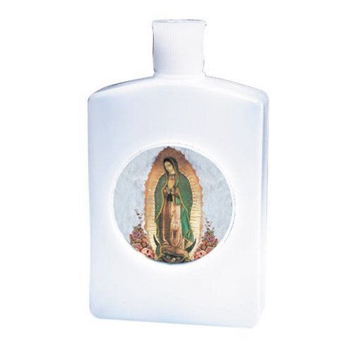 Our Lady of Guadalupe Holy Water Bottle - 12/pk