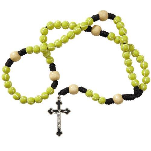Tennis Sport Rosary - 3/pk