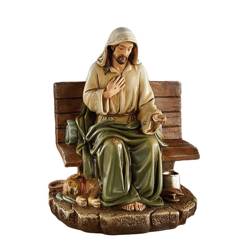 Homeless Jesus - No Place to Rest Figurine
