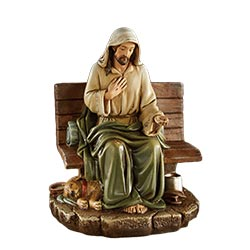 Homeless Jesus - No Place to Rest Figurine