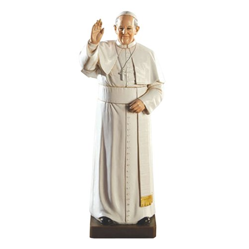 """8"""" Pope Francis Toscana Statue"""