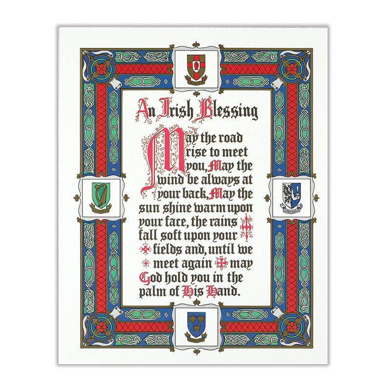 An Irish Blessing Traditional Catholic Prints - 20/PK