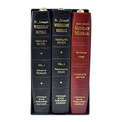 Saint Joseph Weekday & Sunday Missal 3-Volume Set