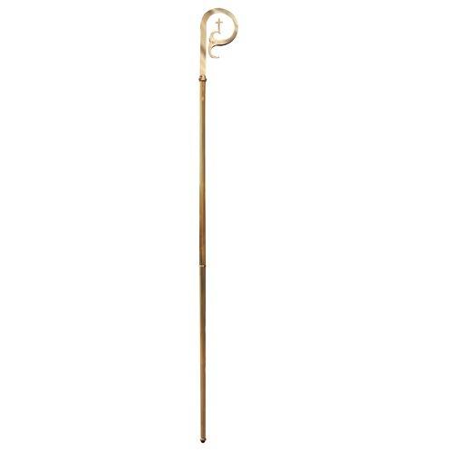 Pastoral Staff/Crozier - Brass Handle