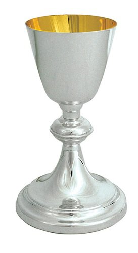 Simple Traditional Chalice with Sweeping Lines