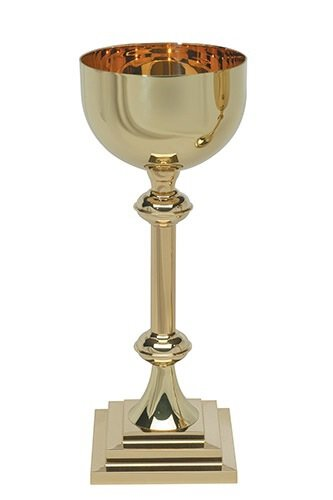 Square Base Ceremonial Chalice