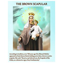 The Brown Scapular Pamphlet - 100/pk