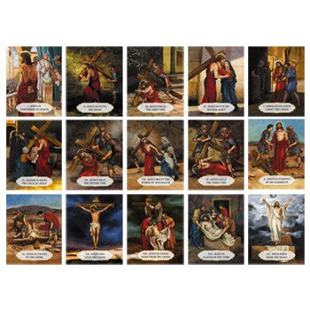 Stations of the Cross Classroom Set - 12 sets/pk