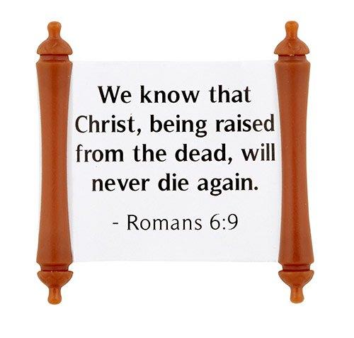 Easter Bible Verse Scroll Assortment (5 Asst) - 50/pk