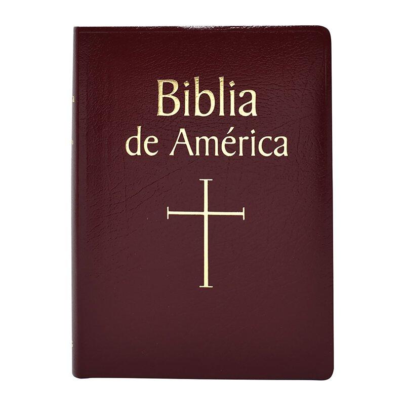 Biblia de America - Burgundy Imit. Leather
