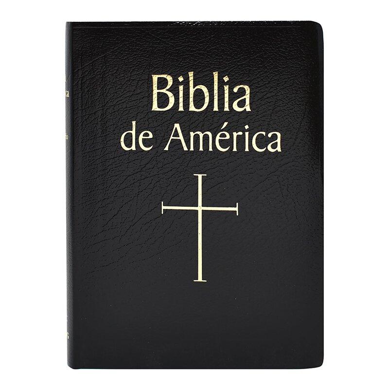 Biblia de America - Black Imit. Leather