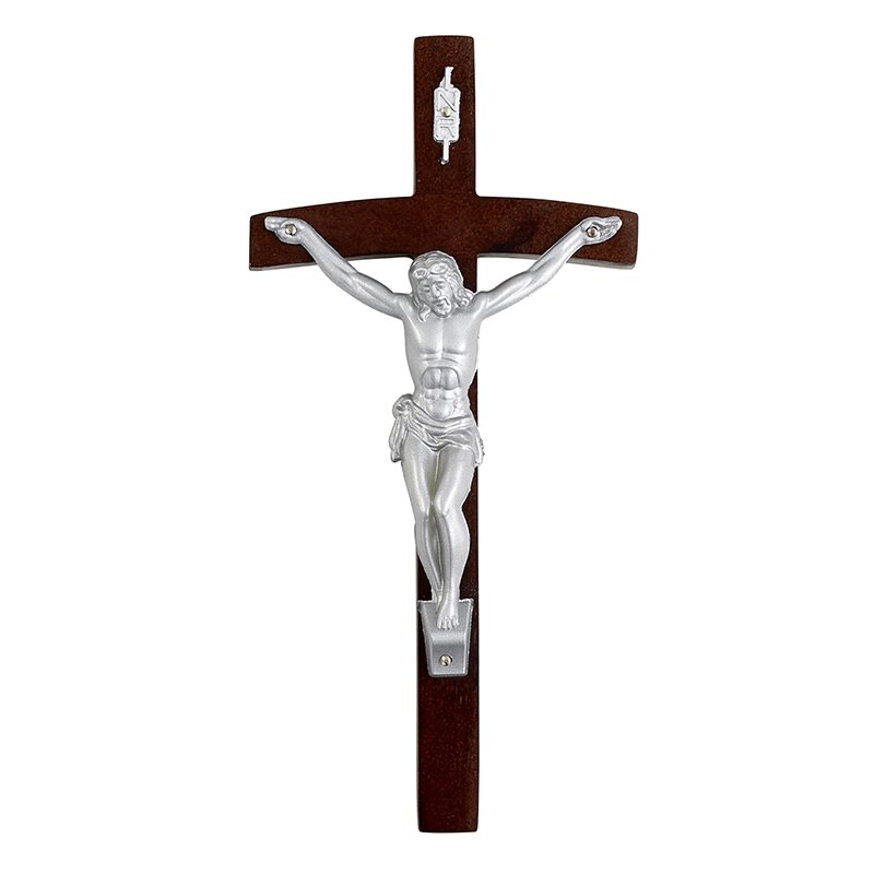 "8"" Papal Wall Crucifix"