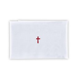 Red Cross Purificator - Poly Cotton Blend - 12/pk