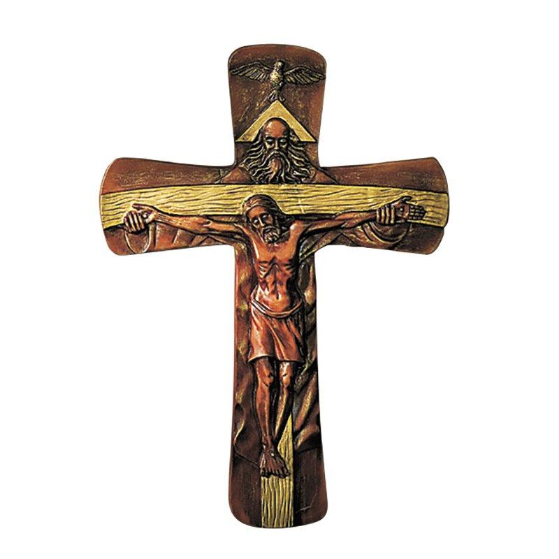 Holy Trinity Wall Crucifix