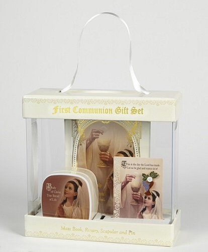 Sangre de Cristo First Communion Gift Sets - Gift Boxed