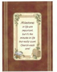 Milestones - Tranquil Woods Greeting Card