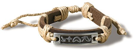 Witness Leather Bracelet