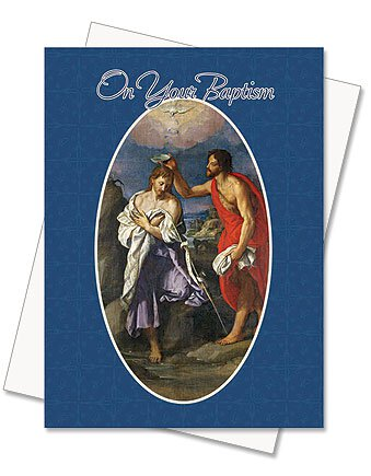 On Your Baptism Greeting Card (Adult)