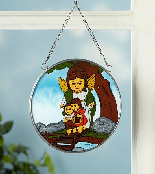 Guardian Angel Suncatcher Ornament - 4/PK