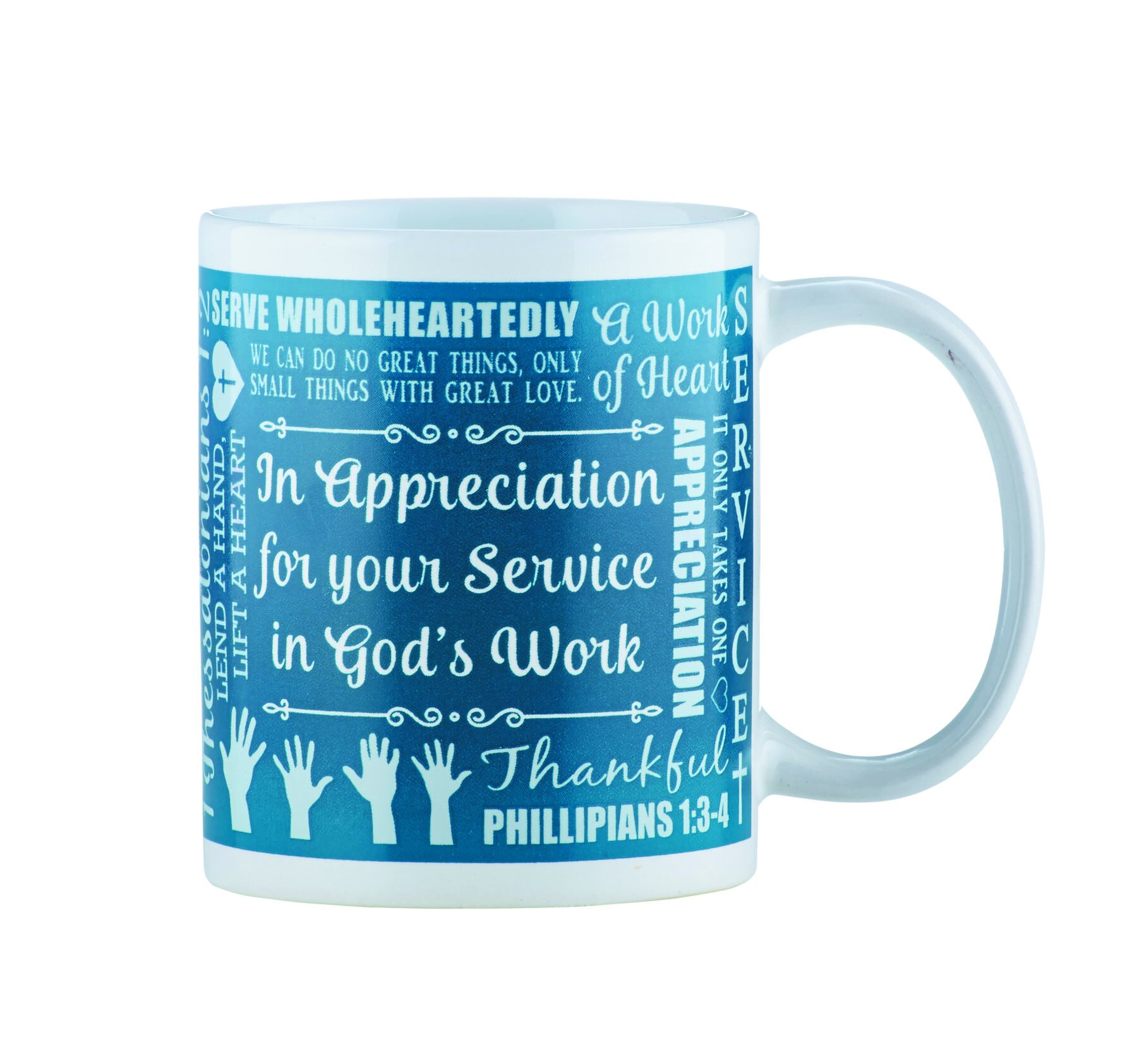 In Appreciation for Your Service Mug - 12/pk