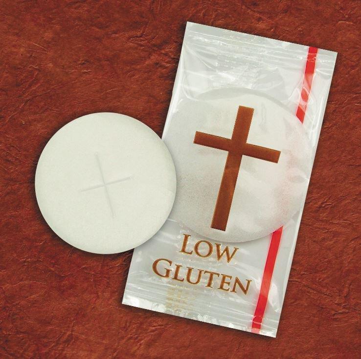 Low Gluten Individual Hosts