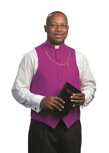 Purple Clergy Vest