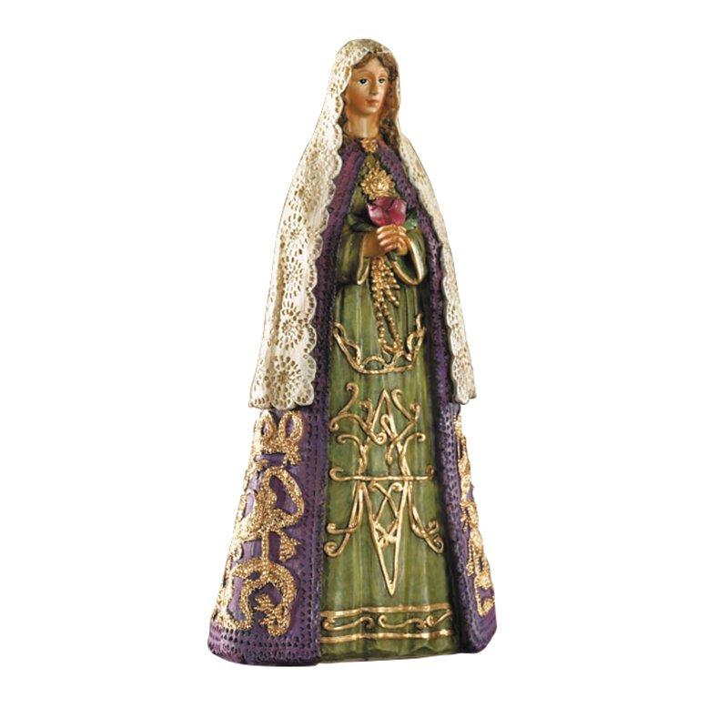 Rosa Mystica Statue