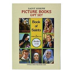 St. Joseph Picture Book of Saints Gift Set - 12/set