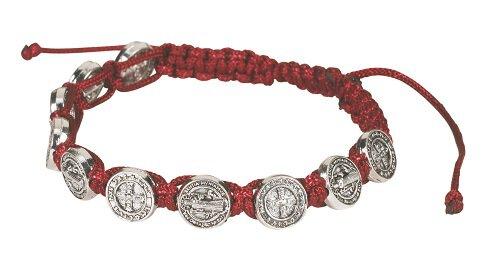St Benedict Medal Bracelet 12 Pk