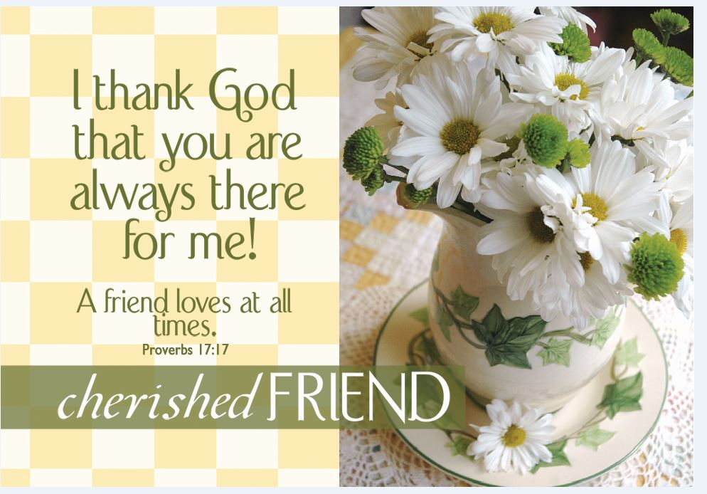 Pass It On: Cherished Friend