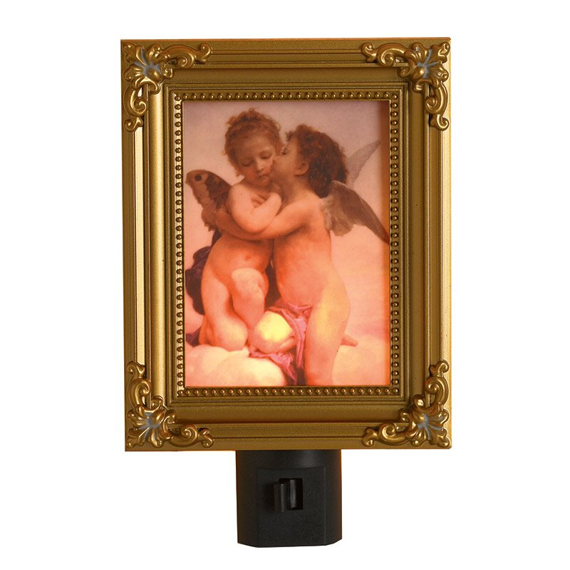 Bouguereau's Angels Kiss Night Light - 6/pk