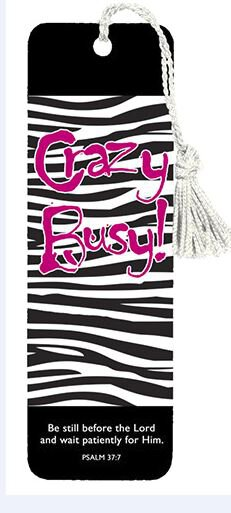 Bookmark- Crazy Busy