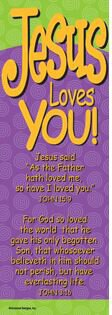 Bookmark Jesus Loves You
