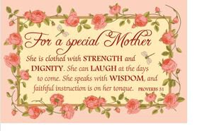 Pass It On: Special Mother