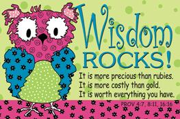 Pass It On: Wisdom Rocks!