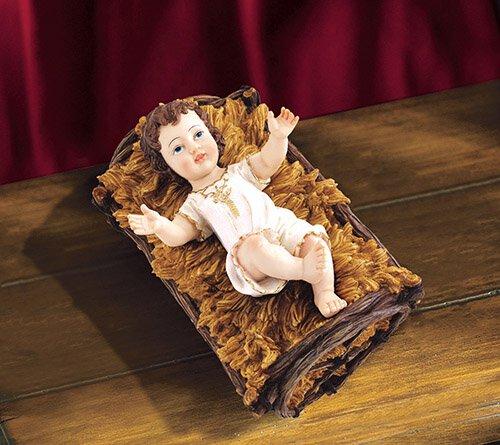 Infant Jesus with Manger