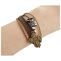 Four Way Cross Bracelet - 12/pk