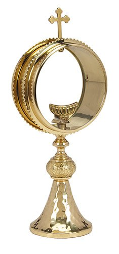 Clear Monstrance with Luna